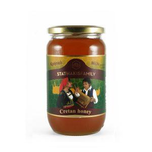 Μέλι πεύκο και θυμάρι Κρήτης 920γρ.