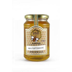 Μέλι πορτοκαλιάς 450γρ.