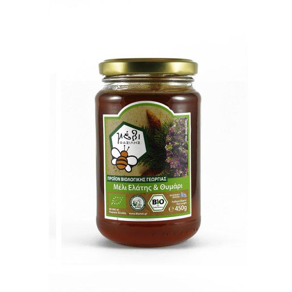 Μέλι ελάτης & θυμάρι 450γρ. ΒΙΟ