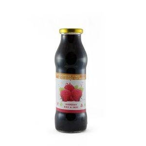 Χυμός χωρίς ζάχαρη με ολόκληρα raspberries 720ml.
