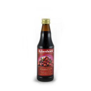 Χυμός cranberries 330ml.