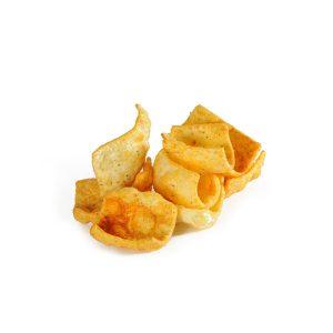 Chips hummus με ντομάτα & βασιλικό