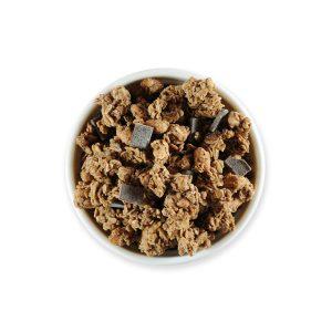 Crunchy oat dark chocolate